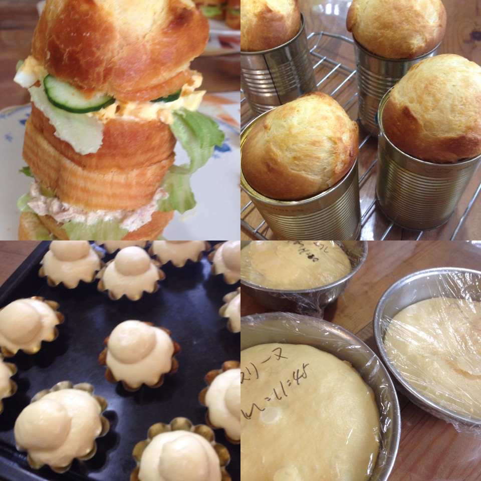 微量イーストの長時間熟成パン